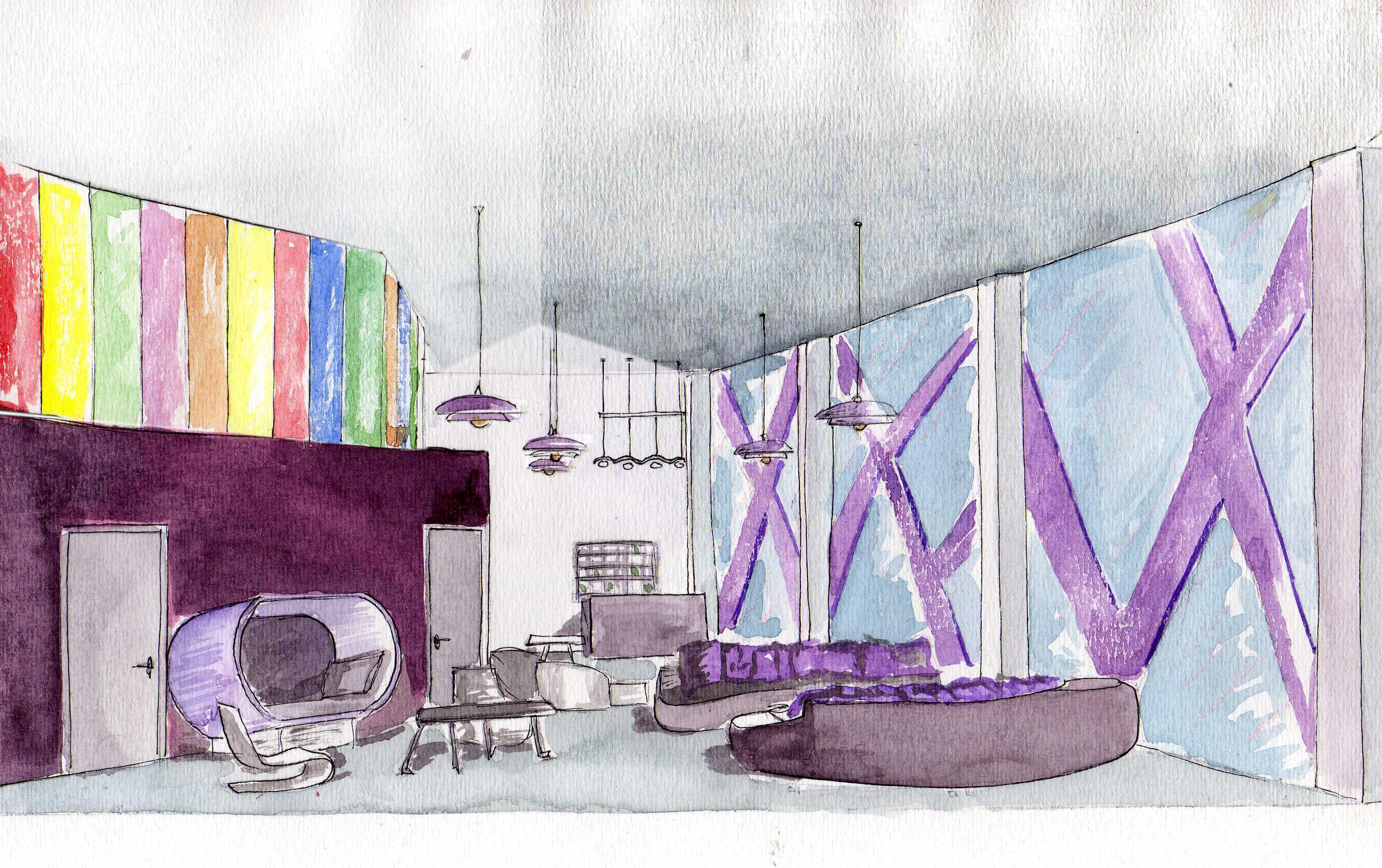 Dise o interior arquitecto de interiores for Proyectos de diseno de interiores